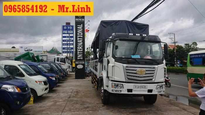 Xe tải Faw 8 tấn thùng siêu dài