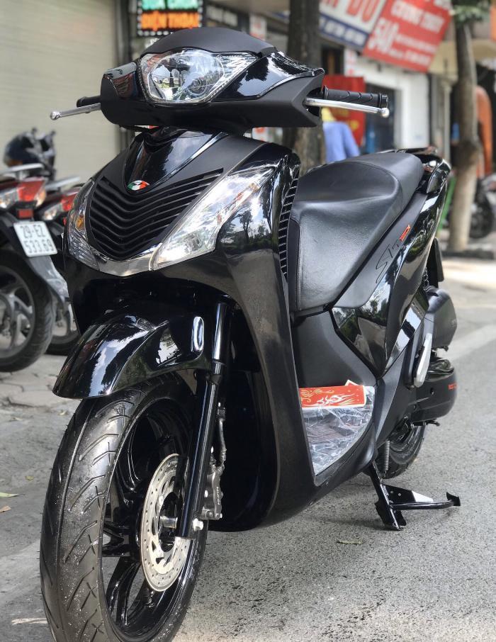 Cần bán SH Việt 125 Full nhập cuối 2016 màu Đen Sport quá đẹp 5