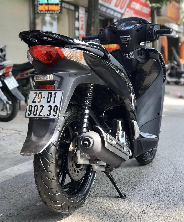Cần bán SH Việt 125 Full nhập cuối 2016 màu Đen Sport quá đẹp