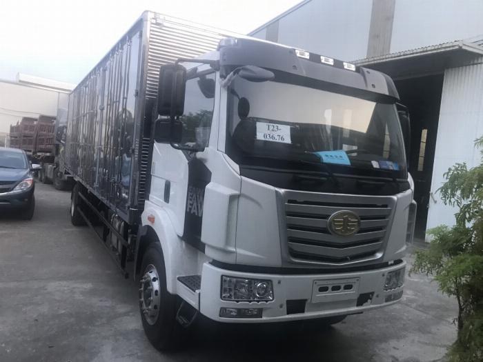 Xe tải thùng Faw 8 tấn thùng dài 9m7 5