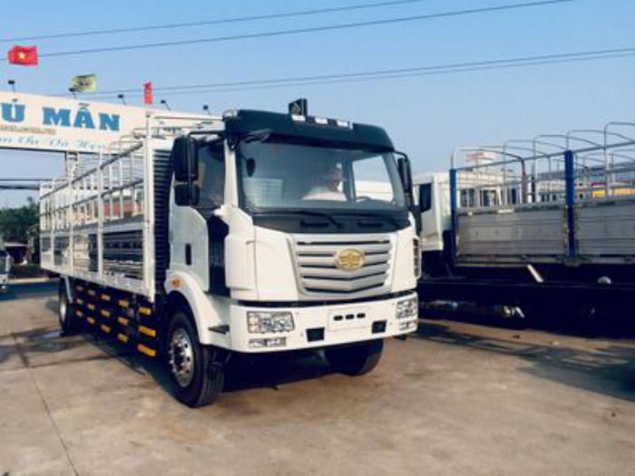 Xe tải thùng Faw 8 tấn thùng dài 9m7 4