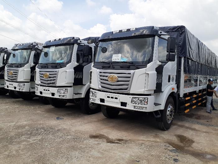 Xe tải trung quốc thùng dài 10m Faw 7.25T- xe nhập 2019, giá cạnh tranh 1