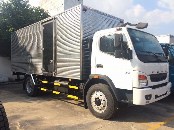 Xe tải Mitsubishi Fuso Fi tải 8 tấn đời 2019 thùng dài 7 mét Tặng 1000 lít dầu 5