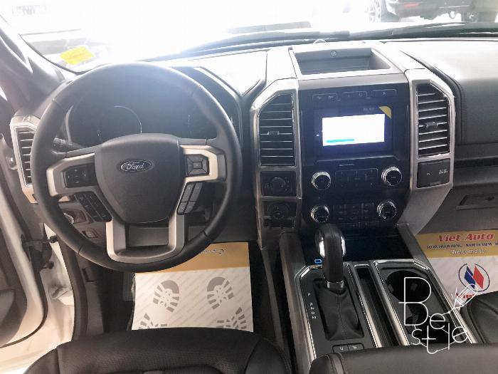 Siêu bán tải Ford F150 Limited 3.5, nhập MỸ ,2019,màu trắng ,mới 100%,xe giao ngay . 8