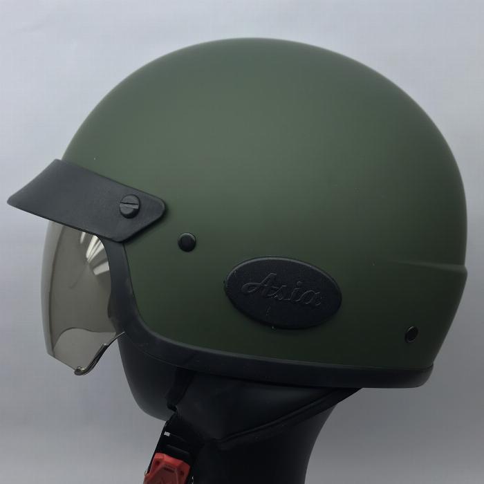 Nón bảo hiểm size đầu to kính âm Asia MT139
