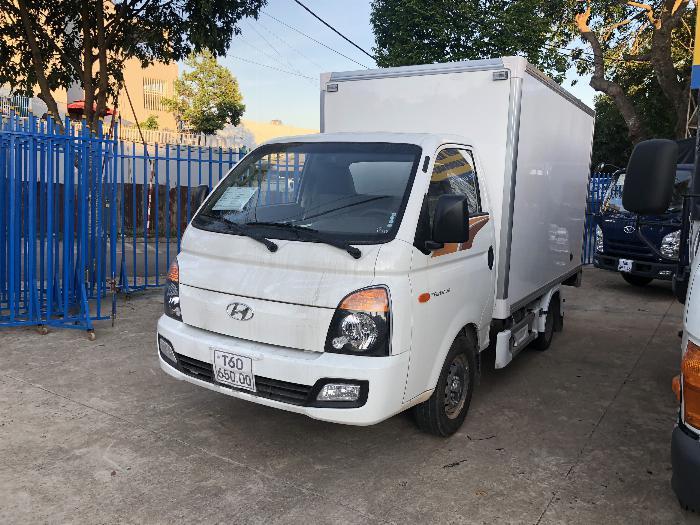 Giá xe tải Hyundai H150 thùng kín composite, hỗ trợ trả góp 80% LS thấp 1