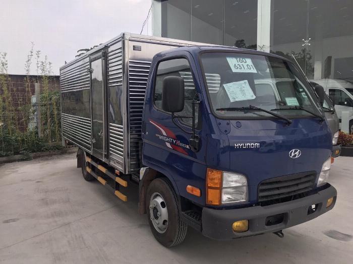 Báo giá xe tải Hyundai N250SL thùng kín, hỗ trợ trả góp 80% lãi suất thấp
