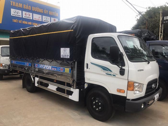 Bán xe tải Hyundai Mighty 7 tấn đủ thùng hàng, có sẵn xe, giao ngay