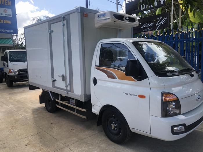Bán xe tải Hyundai H150 thùng đông lạnh, hỗ trợ trả góp 80% LS thấp 3