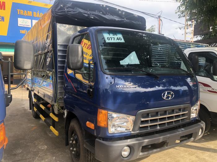 Giá xe tải Hyundai Mighty 2017 tấn thùng mui bạt, mua xe tặng 1 chỉ vàng SJC