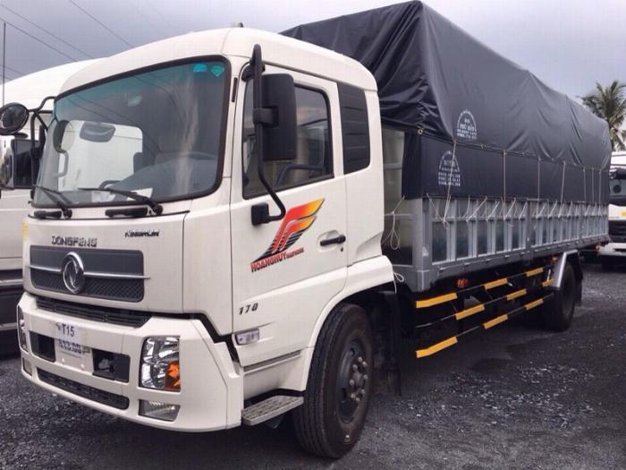 Xe tải DONGFENG 8 TẤN THÙNG DÀI 10M 4
