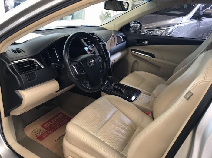 Bán xe Camry 2.5G sx 2015 màu bạc, tặng ngay trước bạ và bảo hiểm 2 chiều 5