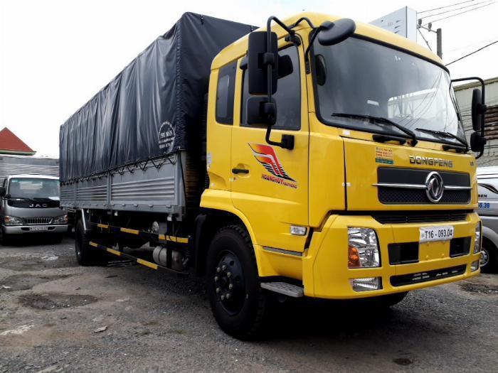 Xe tải DONGFENG 8 TẤN THÙNG DÀI 10M 7
