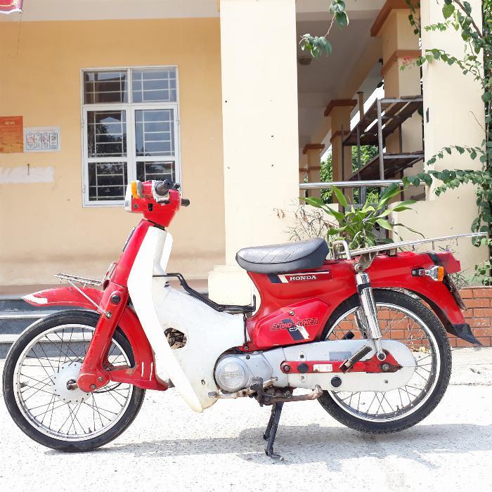 Honda Cub DD màu đỏ nguyên bản xe Nhật