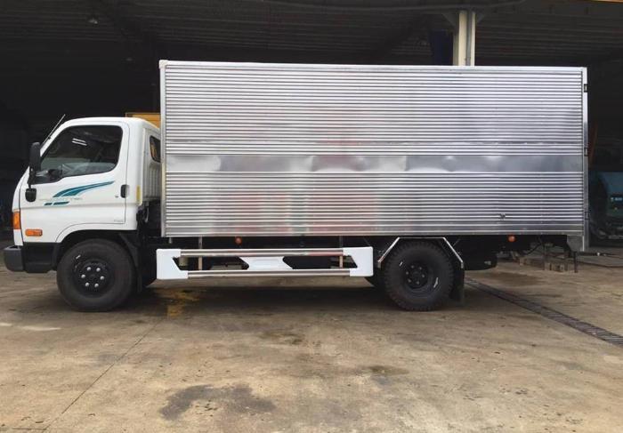 So sánh xe New Mighty 110s và xe tải Thaco Ollin 7 tấn
