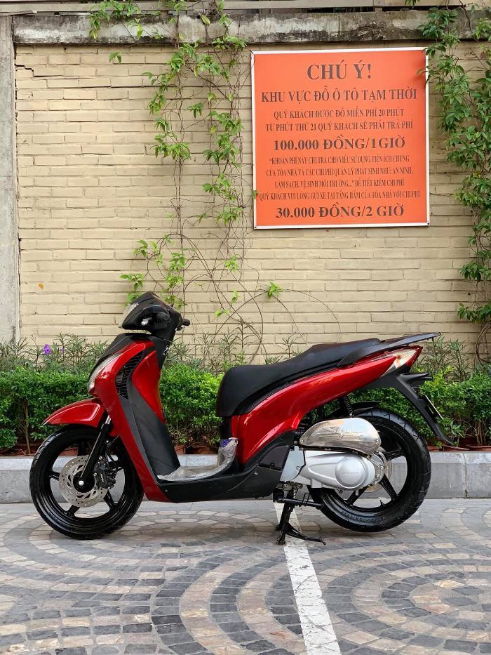 Cần bán SH Nhập 125 cuối 2011 màu đỏ Sport cực đẹp, cực chất 5