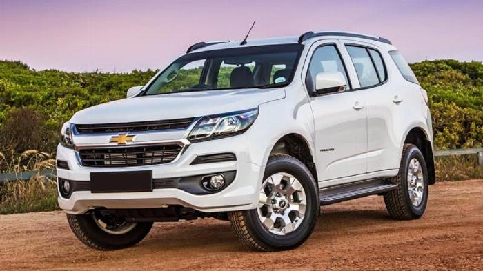 Chevrolet Trailblazer 2.5L 4x2 MT