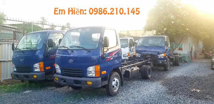 Mua xe tải Hyundai 2.4 tấn giá 490tr 0969138455