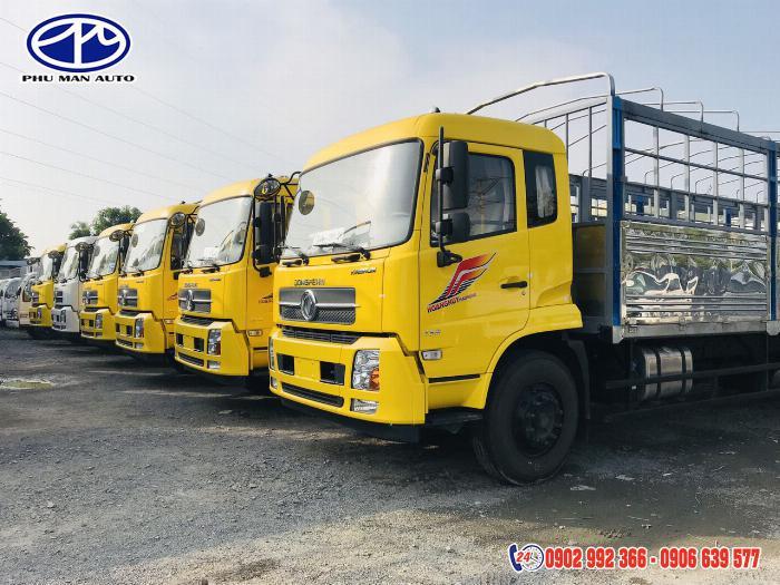 Xe tải 8 tấn - xe tai 8000kg - xe tải dongfeng 8 tấn - dongfeng 8 tan thùng dài