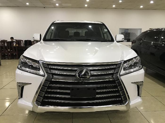 Bán Lexus LX570 màu trắng, nhập mỹ, đăng ký 2016, full option.biển Hà Nội.