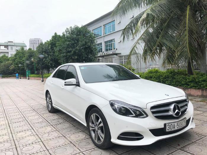 BÁN Mecedes Benz E250 sản xuất 2014 màu trắng Uy tín Giá Tốt