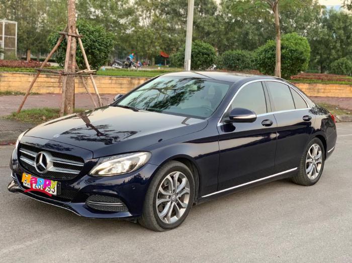 Cần bán xe Mercedes Benz C200 xanh cavansite 2015 2