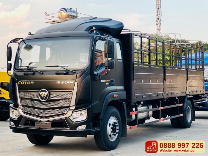 Báo giá xe tải Auman C160 | tải 9 tấn , thùng dài 7,4 mét tại HCM-LA