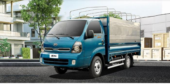 Xe tải 2,5 tấn Kia K250 mui bạt  đời mới nhất