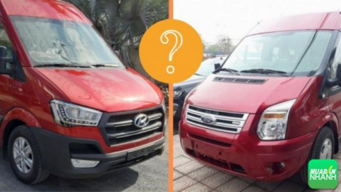 Nên mua Hyundai Solati hay Ford Transit
