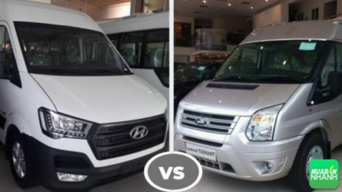 So sánh Hyundai Solati và Ford Transit