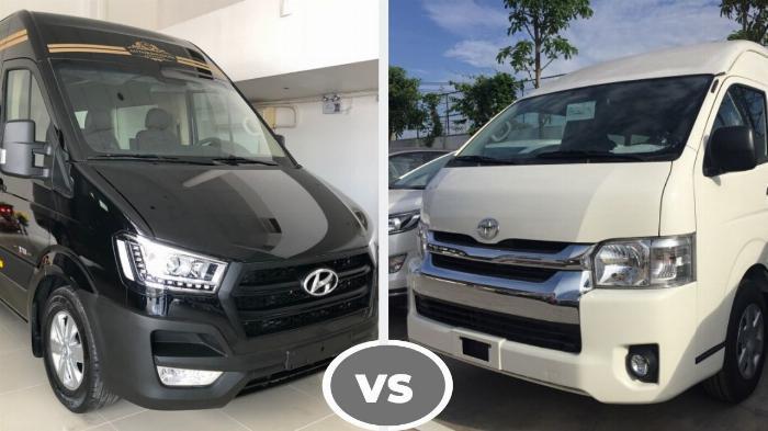 So sánh xe Solati 16 chỗ và Toyota Hiace