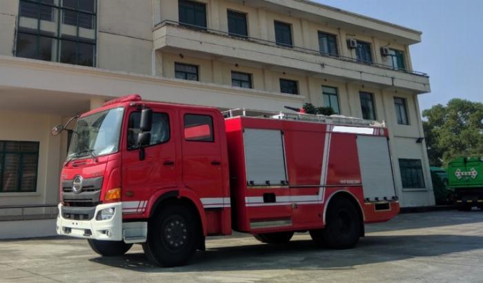bán xe cứu hỏa, xe chữa cháy hino fg 6 khối 2