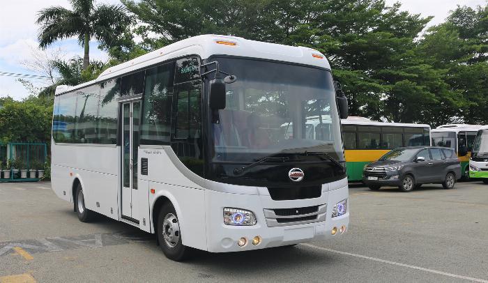 Bán xe khách SAMCO 34 chỗ ngồi động cơ ISUZU 5.2cc