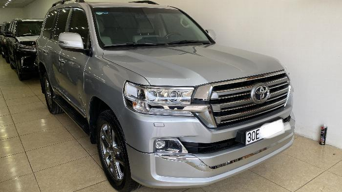 Bán Toyota Land Cruise 4.6,màu bạc 2016,Hóa đơn VAT 1,7 tỷ ,xe siêu mới ,biển Hà Nội. 1