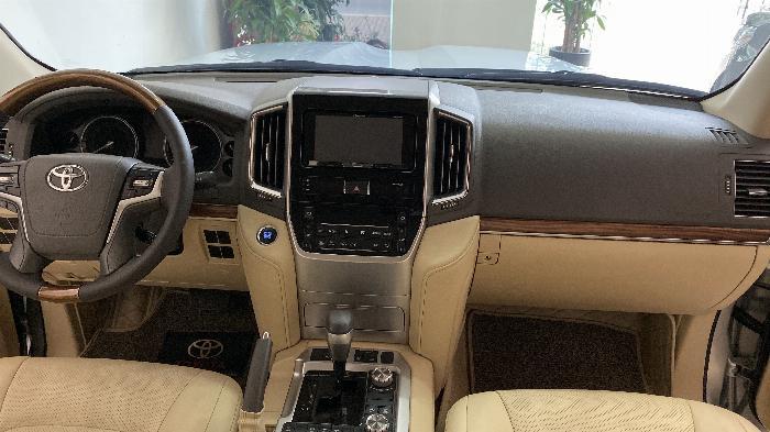Bán Toyota Land Cruise 4.6,màu bạc 2016,Hóa đơn VAT 1,7 tỷ ,xe siêu mới ,biển Hà Nội. 7