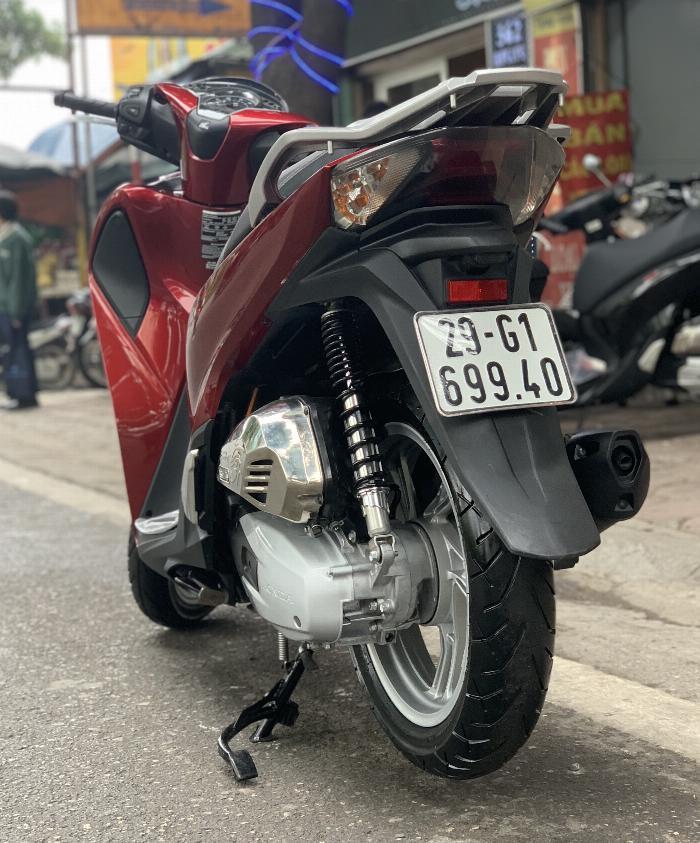 Cần bán SH Việt 125 ABS cuối 2017 màu Đỏ cực mới, xe đẹp miễn chê. 6