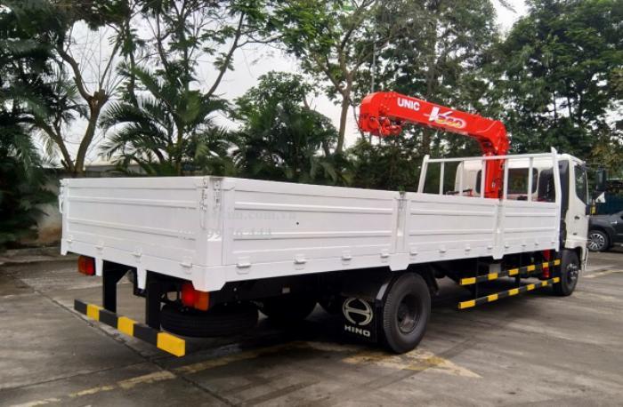 Xe cẩu tự hành 3 tấn - hino