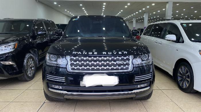 Bán Range Rover Autobiography 5.0 ,sản xuất 2015,đăng ký 2016,màu đen,xe đẹp.