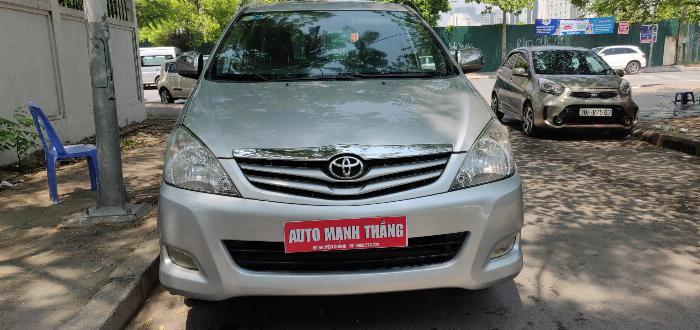 Toyota Innova sản xuất năm 2010 Số tay (số sàn) Động cơ Xăng