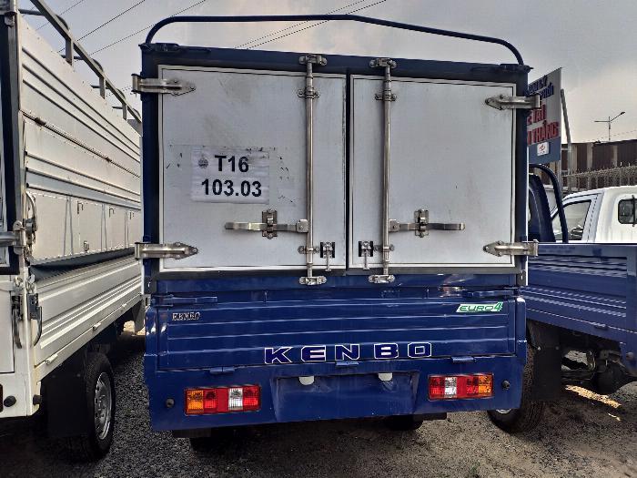 XE TẢI NHỎ KENBO 990KG THÙNG BẠT | Hỗ trợ trả góp
