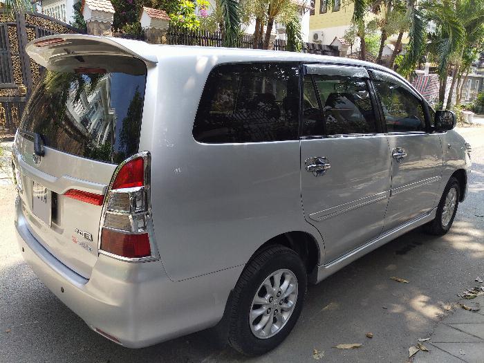 Bán Innova E cuối 2014 xe gia đình xài 5