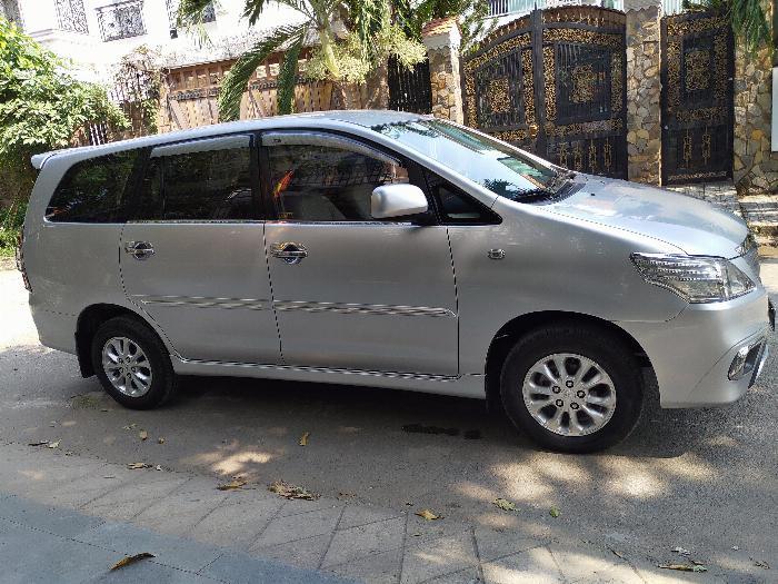 Bán Innova E cuối 2014 xe gia đình xài 7