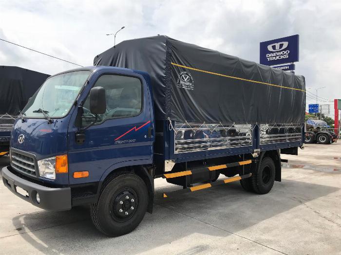 Thông số kỹ thuật xe tải Hyundai Mighty 2017