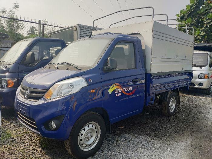 Bán xe tải nhỏ foton 850kg thùng bạt - Hỗ trợ trả góp