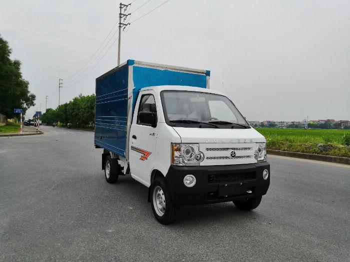 Xe tải giá rẻ, dongben db1021 thùng kín, thiết kế nhỏ gọn, động cơ mạnh mẽ