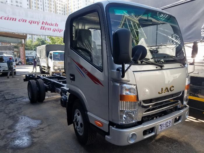 Bán xe tải JAC N200 1T9 thùng 4M3 - Máy Isuzu| Giảm 20 Triệu Mỗi xe
