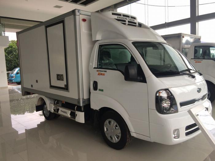 Xe Đông Lạnh KIA K200-K250 thùng đông lạnh sửa dụng động cơ HUYNDAI.