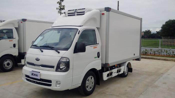 Xe Đông Lạnh KIA K200-K250 thùng đông lạnh sửa dụng động cơ HUYNDAI. 5