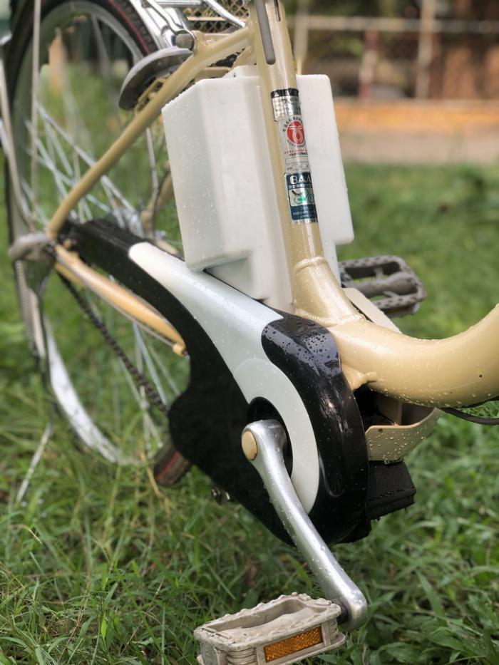 Bán xe đạp điện trợ lực tay ga hàng Nhật bãi cũ giá rẻ Tp HCM – Mã: X17 9