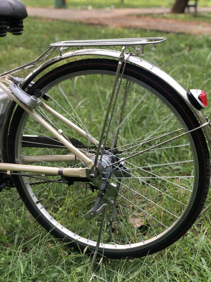 Bán xe đạp điện trợ lực tay ga hàng Nhật bãi cũ giá rẻ Tp HCM – Mã: X17 2